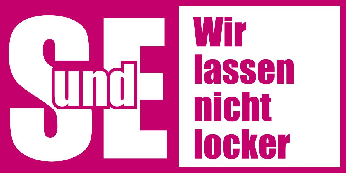Kampagne des dbb: SuE - Wir lassen nicht locker